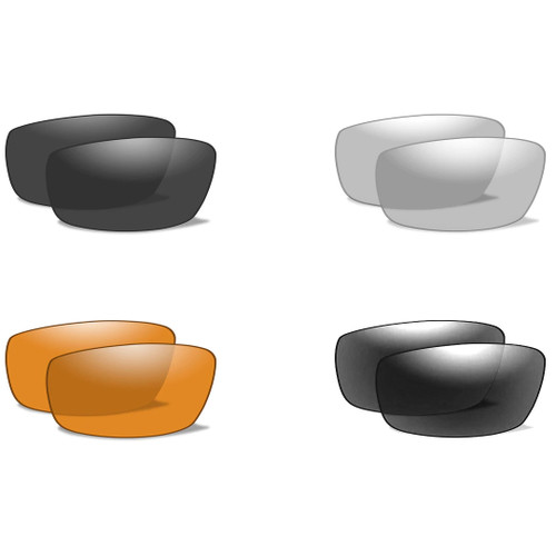 Wiley X Valor   Replacement Lenses