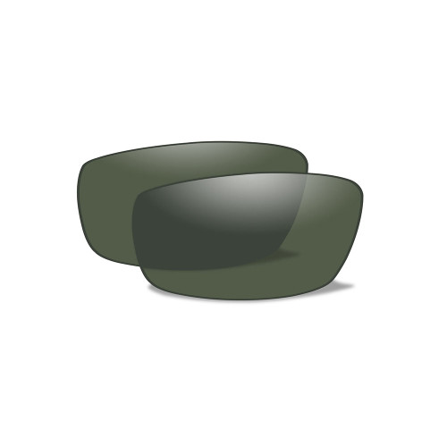 Wiley X P-17 | Polarised Green Lens w/ Gloss Black Frame