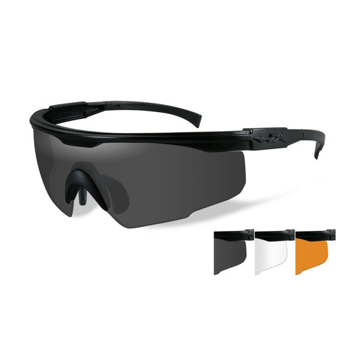 Wiley X PT-1SCL | Three Lens w/ Matte Black Frame