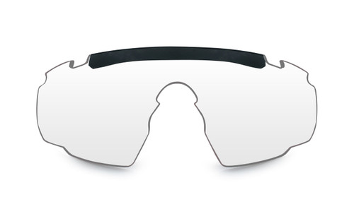 Wiley X Saber Advanced | Clear Lens w/ Matte Black Frame