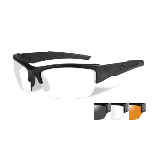 Wiley X Valor | Three Lens w/ Matte Black Frame