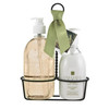 Vetiver Liquid Soap & Lotion Caddy