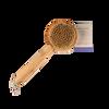 Bamboo Short-Handle Bath Brush