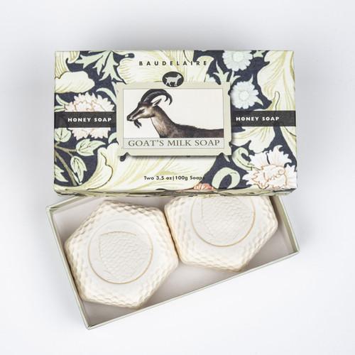 Goats Milk Honey 3.5oz - Gift Box 2-Bar
