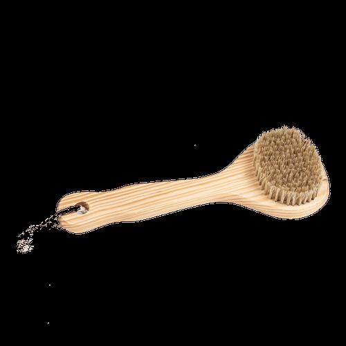 Cedar Short-Handle Bath Brush