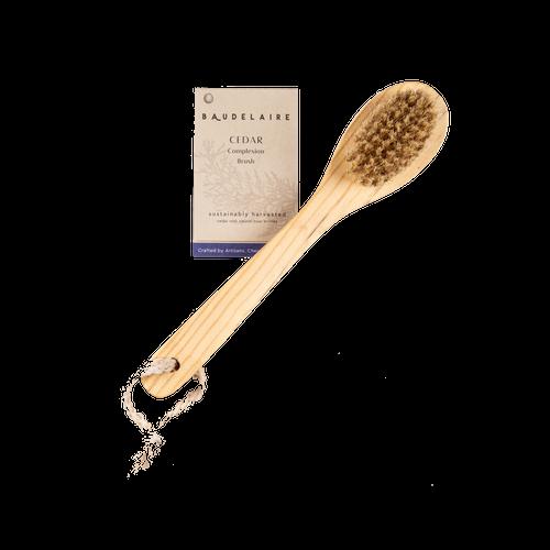 Cedar Long-Handle Complexion Brush
