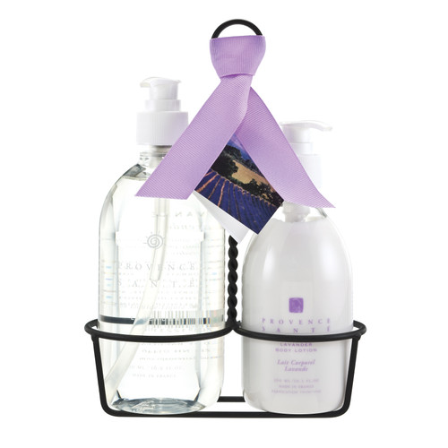 Lavender Liquid Soap & Lotion Caddy