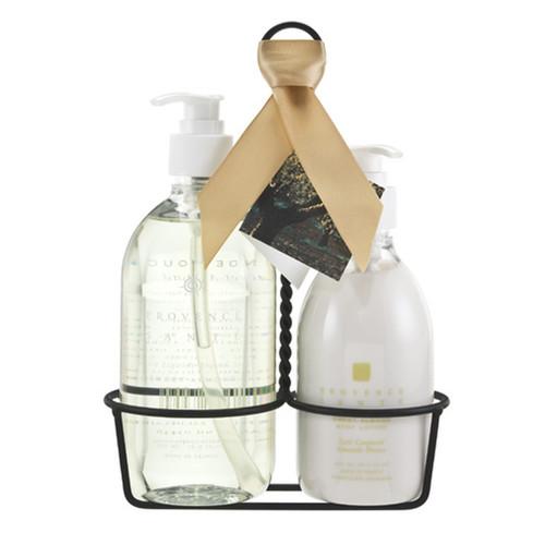Sweet Almond Liquid Soap & Lotion Caddy