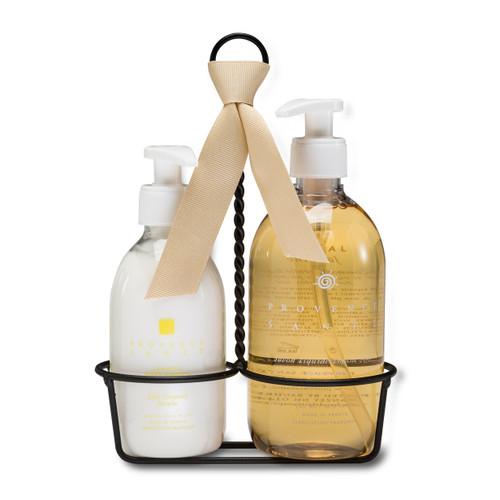 Jasmine Liquid Soap & Lotion Caddy