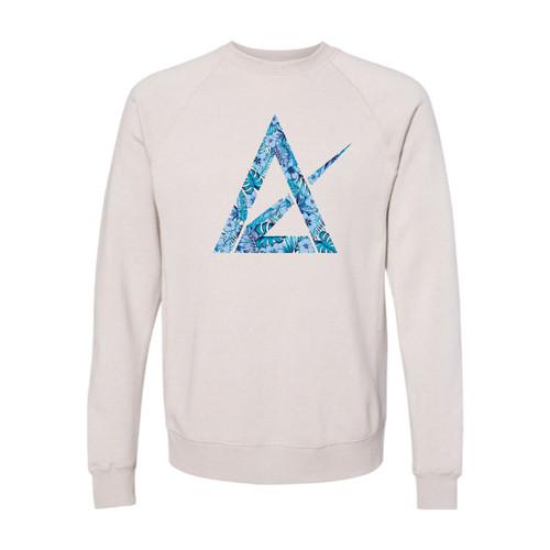 Stone Heather Crew Neck Sweatshirt