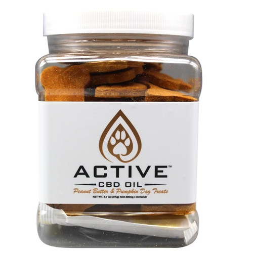 Active CBD oil dog biscuits - 5mg Organic & Gluten/Soy Free