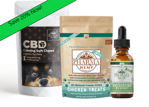 20% off amazing deal, CBD for your pets