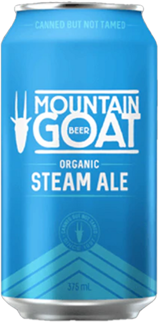 Mountain Goat Steam Ale Cans