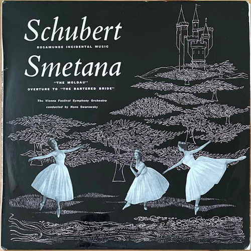 """Schubert /Smetana /The Vienna Festival Symphony Orchestra Conducted ByHans Swarowsky - Incidental Music To """"Rosamunde"""" - The Moldau - Overture To """"The Bartered Bride"""" (LP) in NM Condition - 1959 Australian Pressing"""