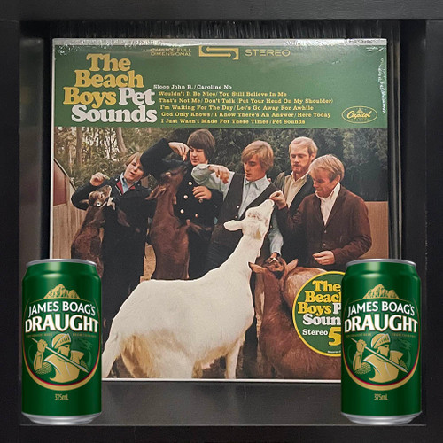 The Beach Boys' Pet Sounds LP - 50th Anniversary Edition & Boag's Draught's