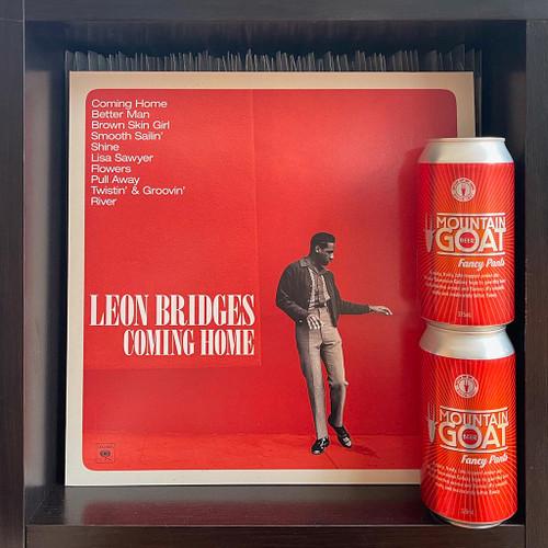 Leon Bridges' Coming Home LP & Mountain Goat's Fancy Pants Amber Ale