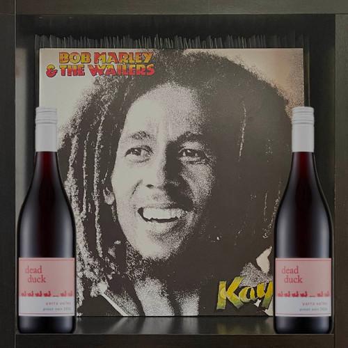 Bob Marley - Kaya LP & Dead Duck Pinot Noir