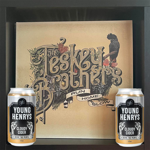 Teskey Brothers Run Home Slow & Young Henrys Cloudy Apple Cider