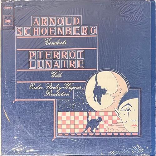 Arnold Schoenberg, Erika Stiedr - Wagner - Arnold Schoenberg Dirigiert Pierrot Lunaire (LP) in NM Condition - 1974 German Pressing
