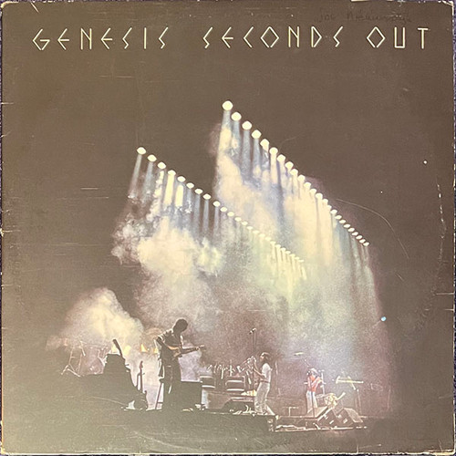 Genesis - Seconds Out (2LP) in VG+ Condition - 1977 Dutch Pressing