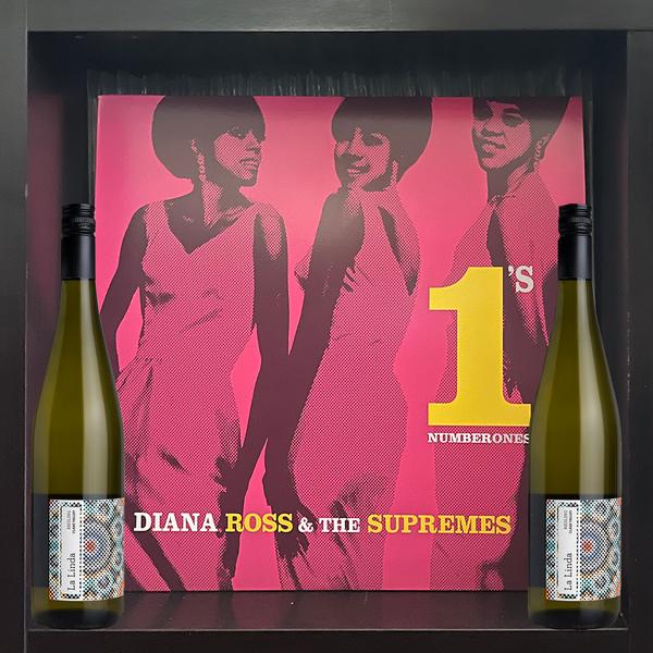 Diana Ross & The Supremes #1s 2LP & La Linda Riesling