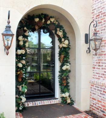 Sanford Doorway Christmas Garland