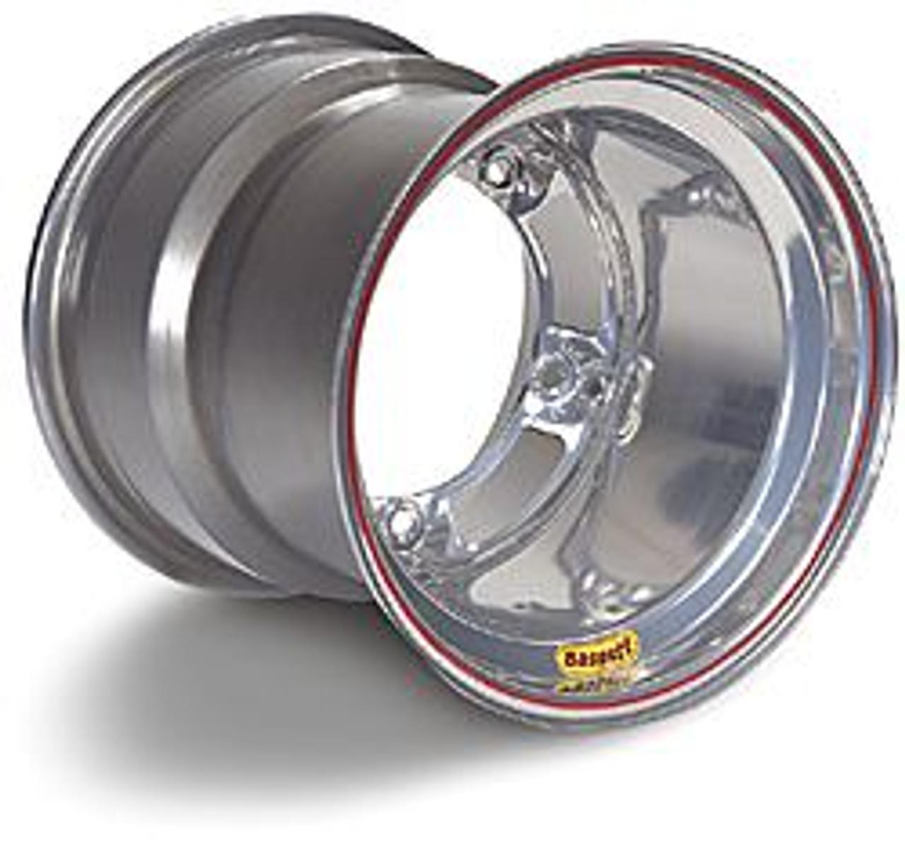 Bassett Spun Wide Five Wheels 15x15 Powdercoat Silver or Black
