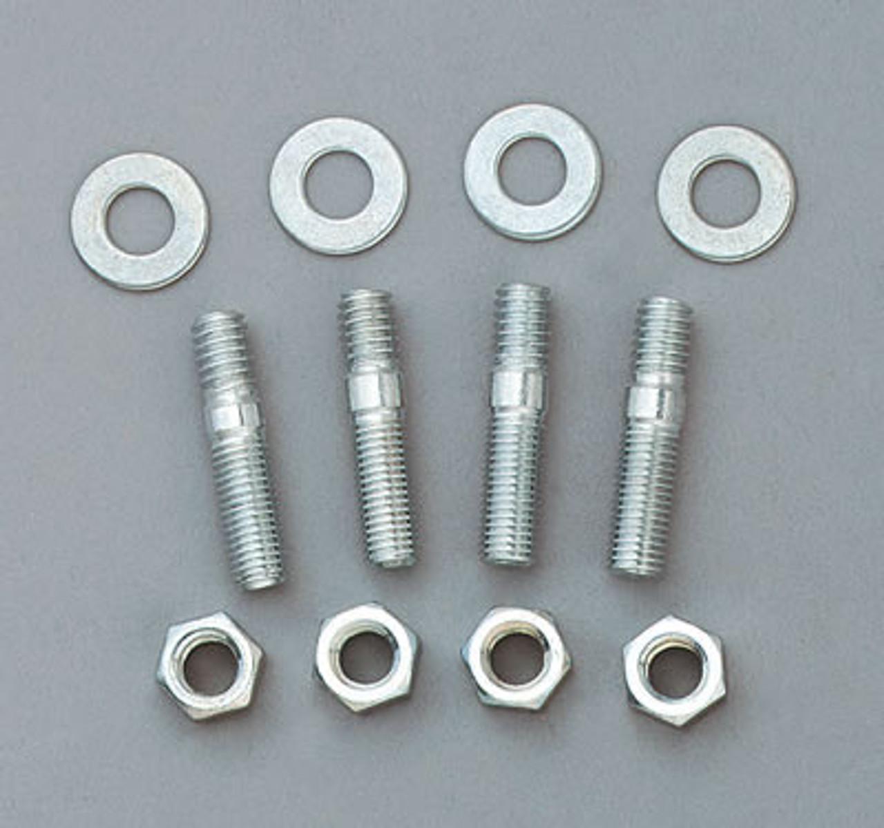 "5//16/"" Carburetor Intake Studs Nuts /& Washers 1-3//8/"" Long Holley Edelbrock Carb"