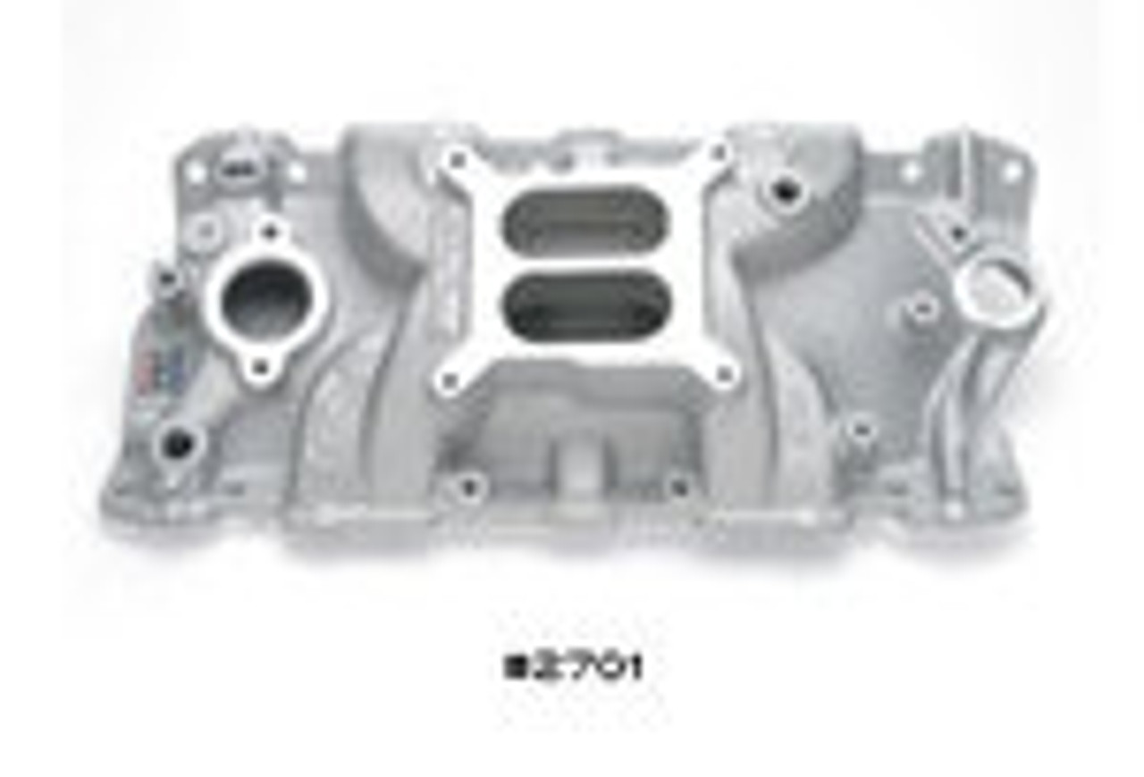 Small Block Chevy Performer EPS Manifold - 262-400 - Edelbrock 2701