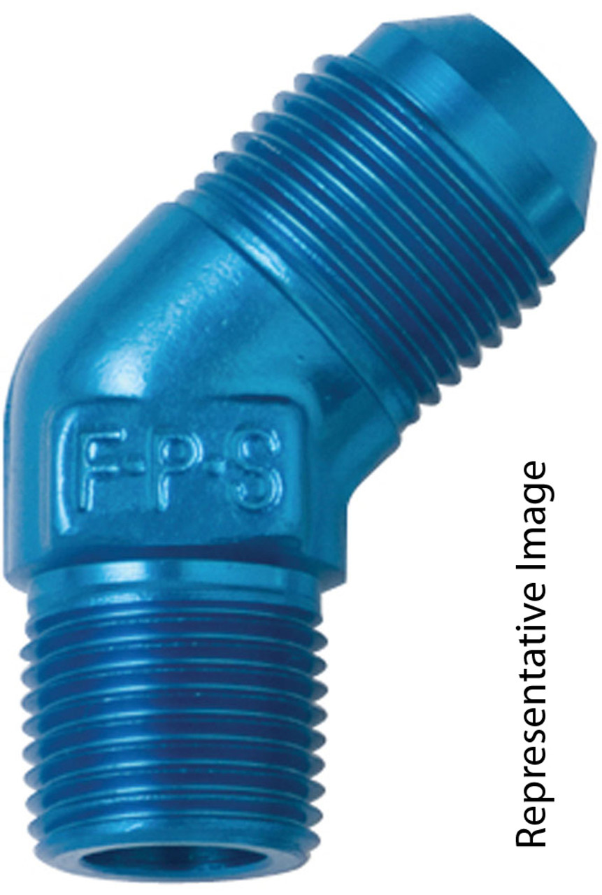#10 X 3/8 MPT, 45 Degree Adapter - Fragola 482311