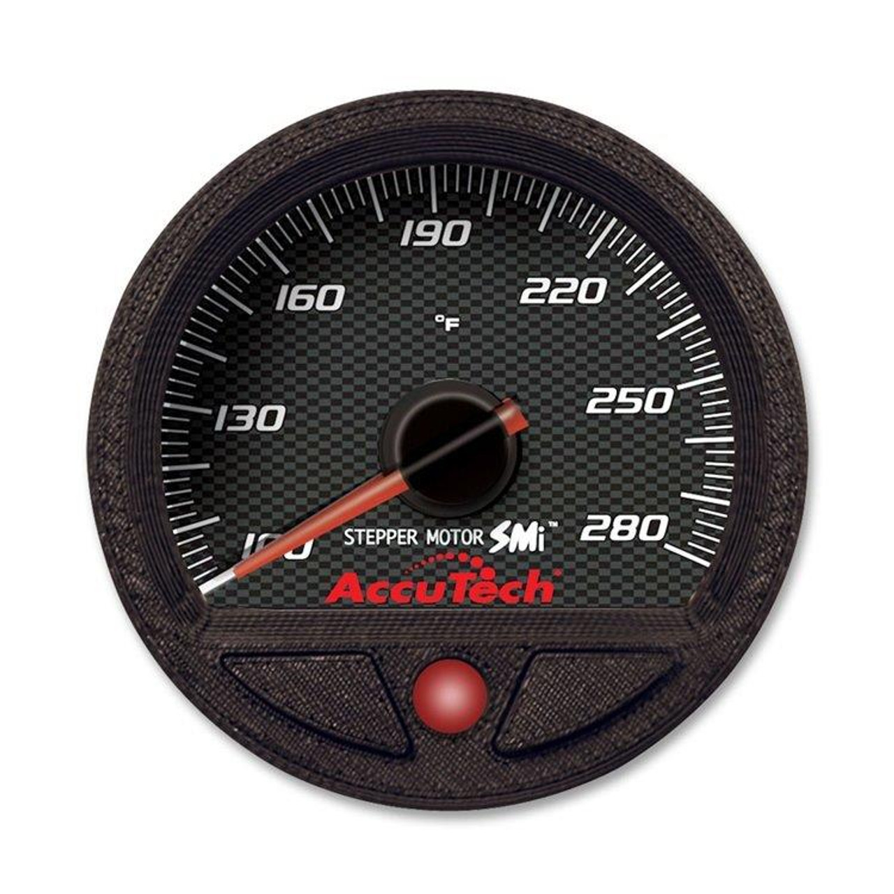 AccuTech™ SMi™ Oil Temp. Gauge - 100-280 Deg. - Longacre 52-46550