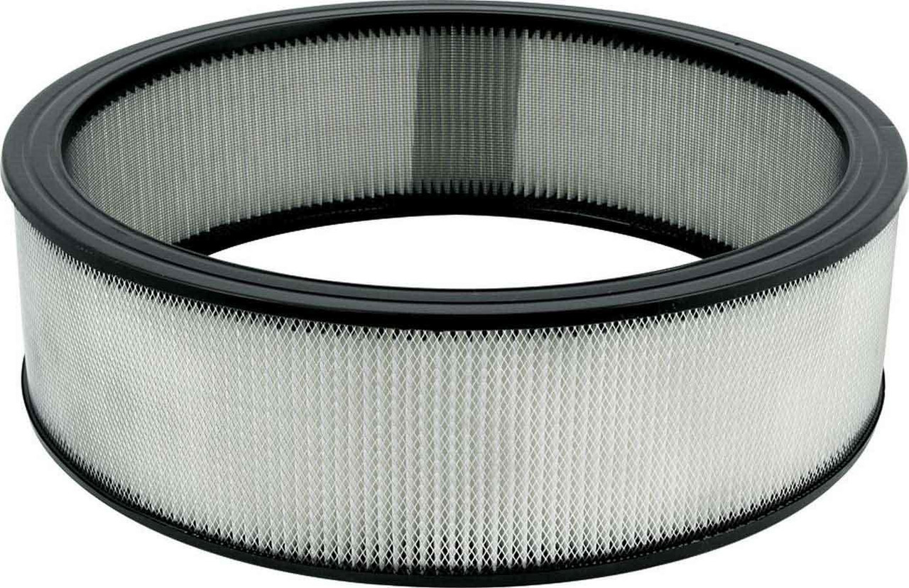 ALLSTAR PERFORMANCE 26022 Air Filter Element, 14 in Diameter, 4 in Tall, Paper, White