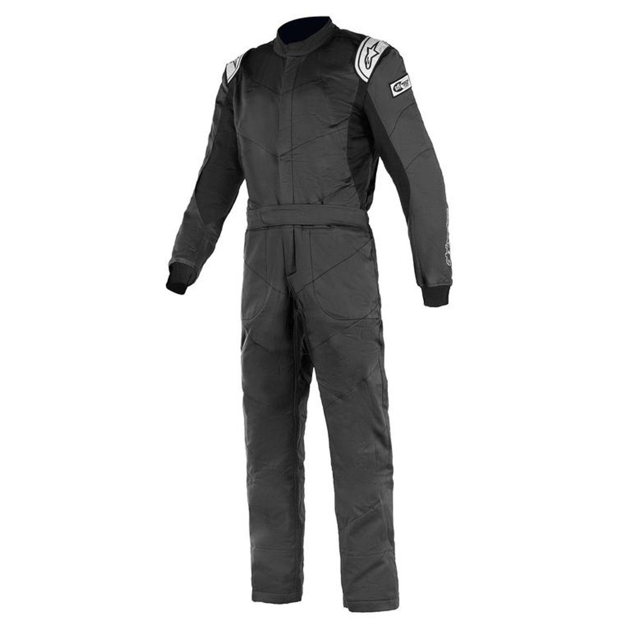 ALPINESTARS Knoxville V2 Driving Suit, 1 Piece, SFI 3.2A/5, Boot-Cut, Triple Layer Black