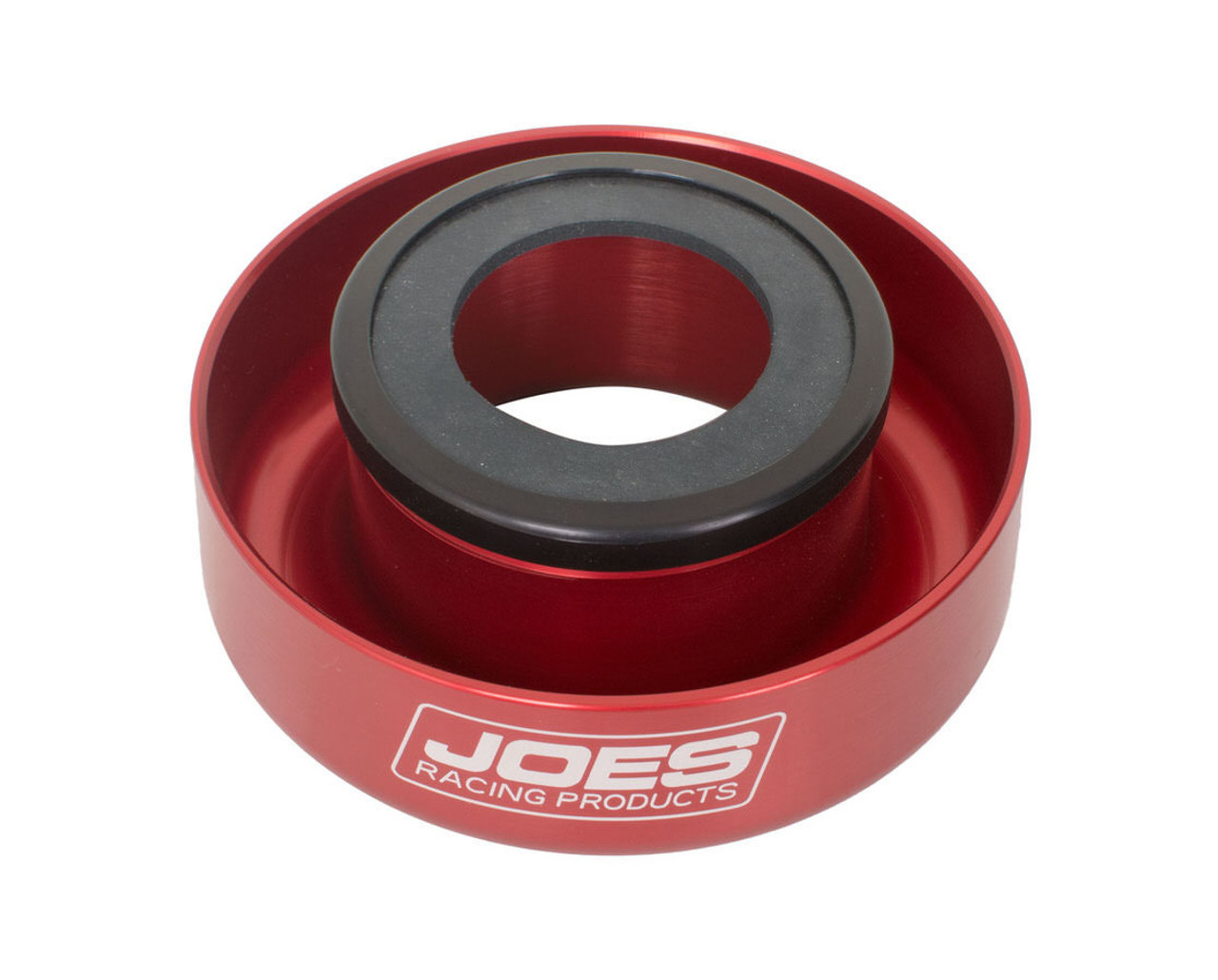 JOE's 19300 Shock Drip Cup, Aluminum, Red Anodized, 1-1/2 to 2-1/8 in Shocks