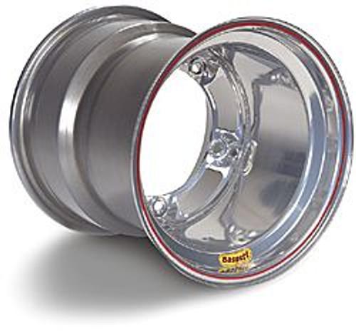 Bassett Spun Wide Five Wheels - 15x15 - Powdercoat Silver or Black