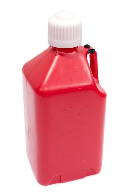 5 Gallon Utility Jug Scribner White/Red/Blue