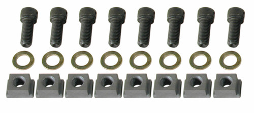 Wilwood 230-8454 Rotor Bolt Kit - Dynamic,  Wide 5,with T-Nuts