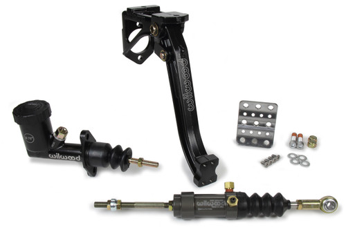 Wilwood Clutch Kit - Pedal / MC / Slave - Floor Mount - 6:1 WIL341-15169