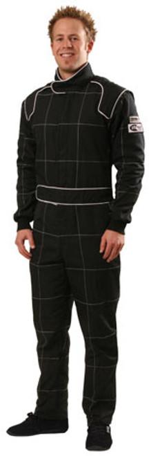 Crow Multi Lyr. 1 PC. Nomex Suit Black