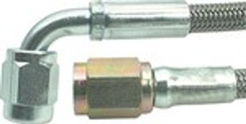 """-3 Teflon Hose 15"""" Str./Str. - AERFBPA0030-15"""
