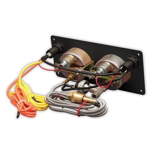Longacre 2 Gauge Aluminum Panel w. Sportsman™ Gauges - OP,WT - LON52-44430