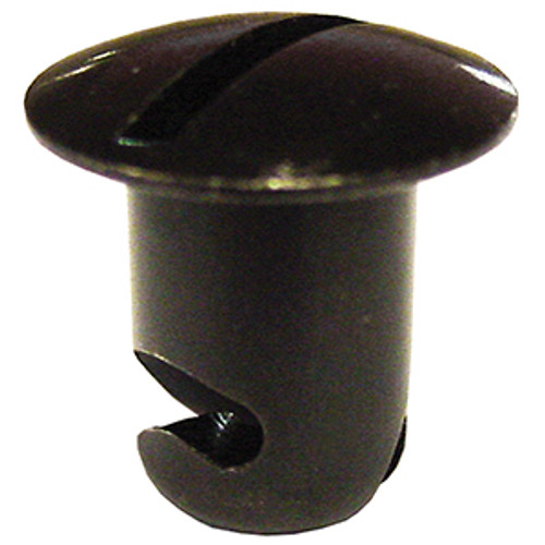 Aluminum Quick Fasteners - Oval Head 7/16 .500 - Plain or Black