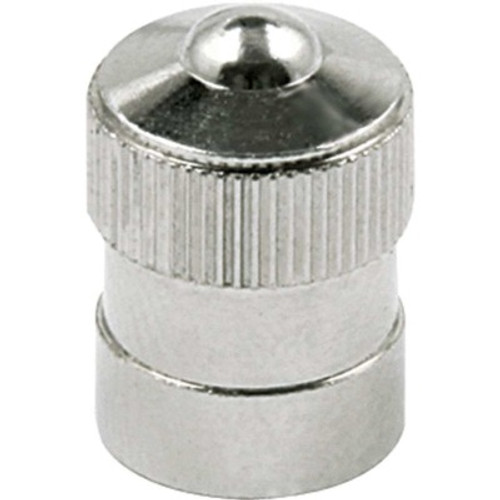 ALL99151 by ALLSTAR PERFORMANCE Valve Stem Cap, Steel, Zinc Oxide, Set of 10