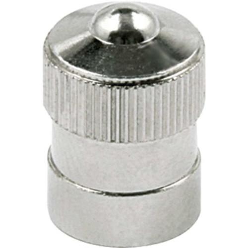 ALL99151 by ALLSTAR PERFORMANCE Valve Stem Cap, Steel, Zinc Oxide, Set of 10