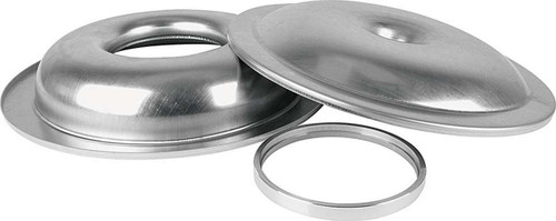 "ALLSTAR Performance 25900 14"" Lightweight Aluminum Air Cleaner Assembly w/1/2"" Spacer, Drop Base (less element) ALL25900"