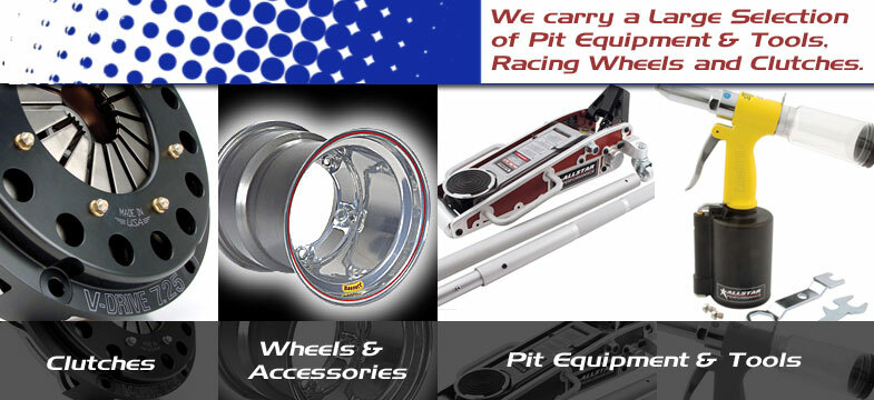 Racing Wheels, Clutches, And Pit Tools