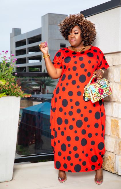 RED LOVE DRESS