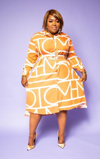 SHE FINE SHIRT DRESS