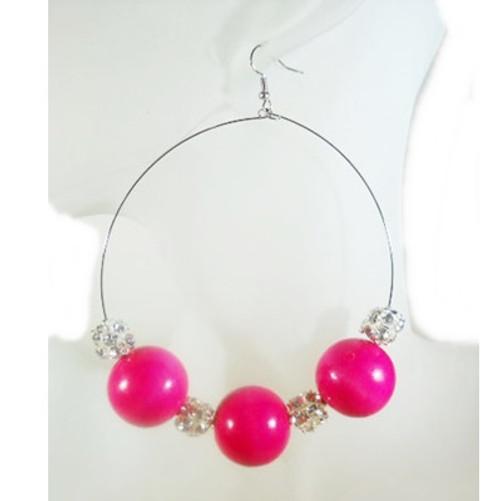 Beaded Earrings-1720