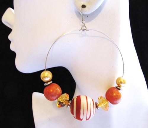 Beaded Earrings-14854